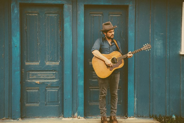 Gregory Alan Isakov - COURTESY OF BLUE CALEEL
