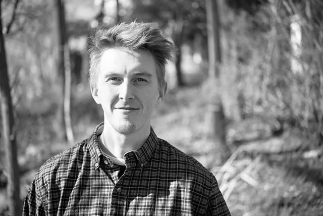Zig Zag Lit Mag cofounder Muir Haman - COURTESY OF DYLAN GRIFFIN