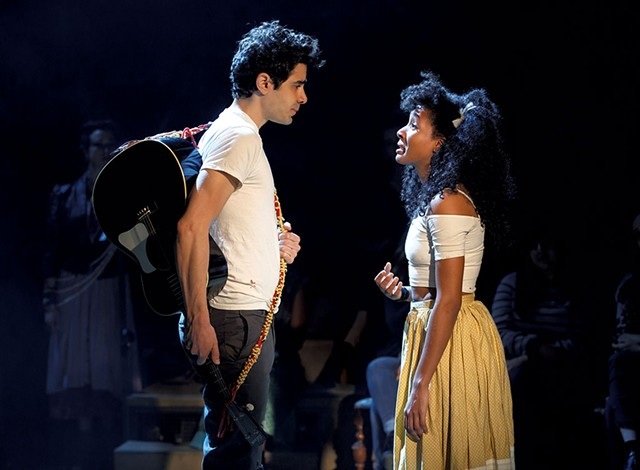 Damon Daunno (Orpheus) and Nabiyah Be (Eurydice) - FILE: JEB WALLACE-BRODEUR