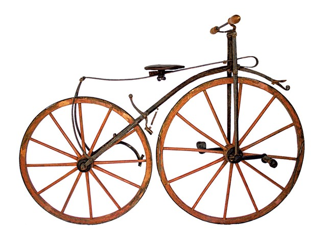 Velocipede, maker - unknown, 1871-1872