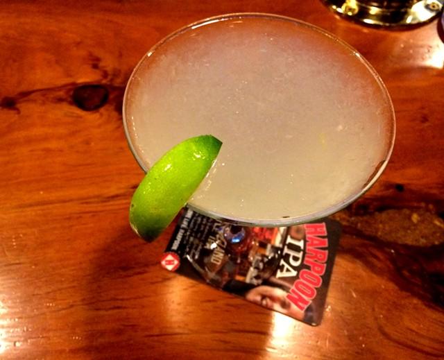 Elderflower gimlet in the Phelps Barn Pub at the Grafton Inn - JULIA CLANCY