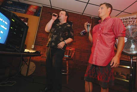 Karaoke at JP's Pub - FILE