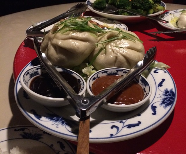 Cha shao buns at A Single Pebble - JULIA CLANCY