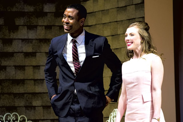 James Brown III and Lilly Tobin - COURTESY OF SAINT MICHAEL'S PLAYHOUSE