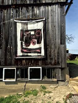 """""""Kaddish for Rachel Corrie,"""" oil on canvas - RACHEL ELIZABETH JONES"""