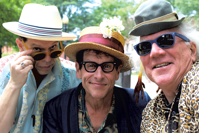 The Hokum Brothers: Billy Bratcher, Woody Keppel and Allan Nicholls - COURTESY OF WOODY KEPPEL