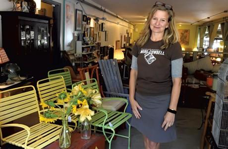 Owner Jess Ackerman - LEE KROHN