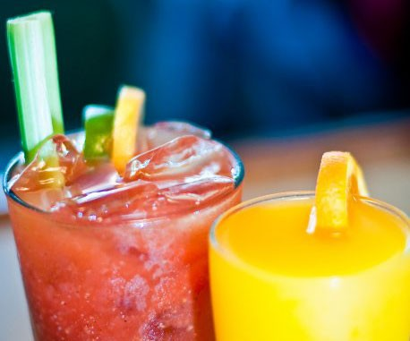 Bloody Mary and Mimosa at Sneakers Bistro - COURTESY OF SNEAKERS BISTRO