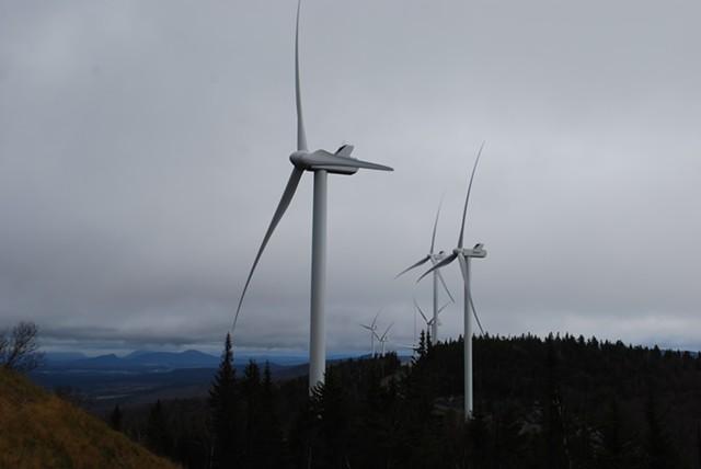 Kingdom Community Wind in Lowell - FILE: KATIE FLAGG
