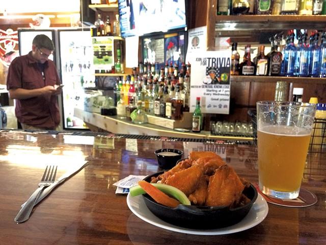 Wings at the North Country Saloon - HANNAH PALMER EGAN