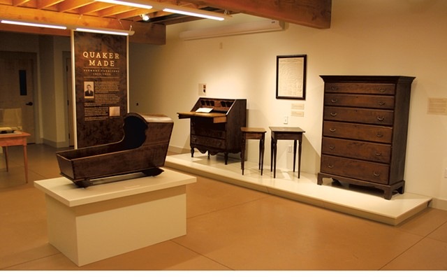 Furniture by Stephen Foster Stevens - COURTESY OF THE ROKEBY MUSEUM