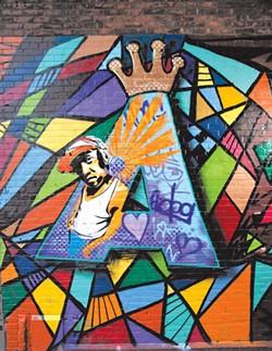 A-Dog Mural - MATTHEW THORSEN