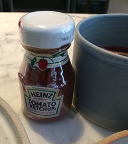 A little ketchup - SUZANNE PODHAIZER