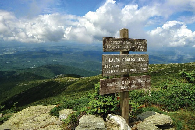 Mt. Mansfield - COURTESY OF JUSTIN LAJOIE