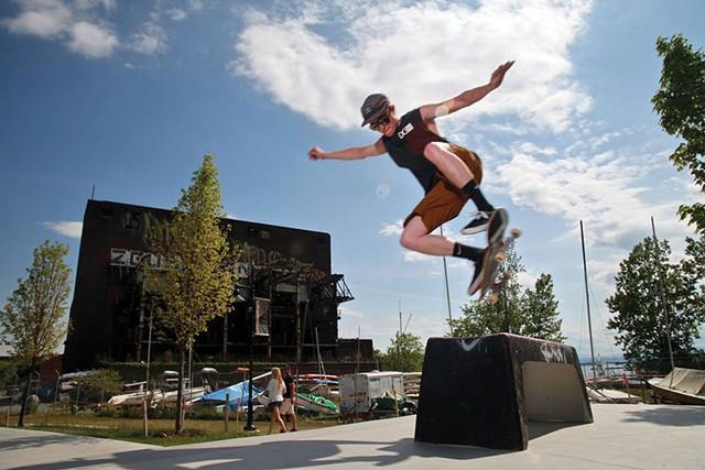 Andy A-Dog Williams Skatepark - MATTHEW THORSEN