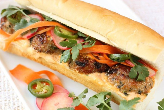 Banh mi - COURTESY SPICE TRADERS' KITCHEN