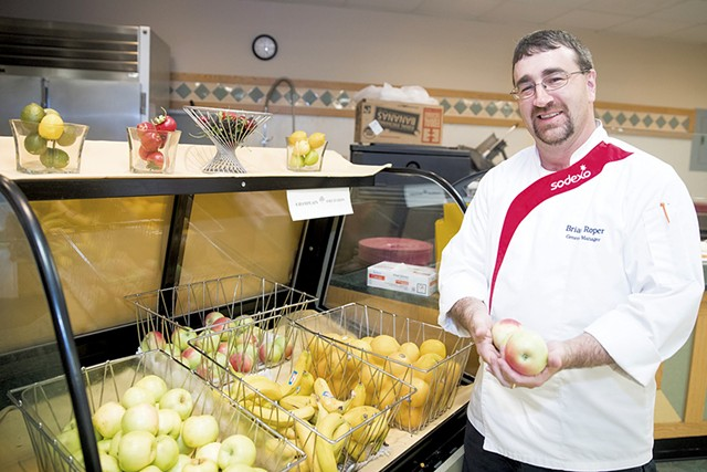 Chef Brian Roper - JAMES BUCK