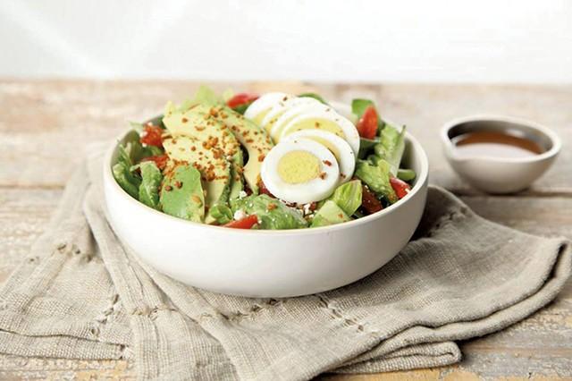 Salad at Eco Bean + Juice - COURTESY OF ECO BEAN + JUICE