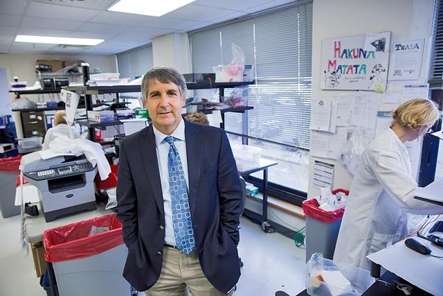 Michael Casarico at Burlington Labs - FILE: JAMES BUCK