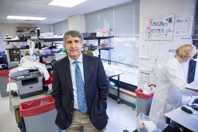 Burlington Labs CEO Michael Casarico - FILE: JAMES BUCK