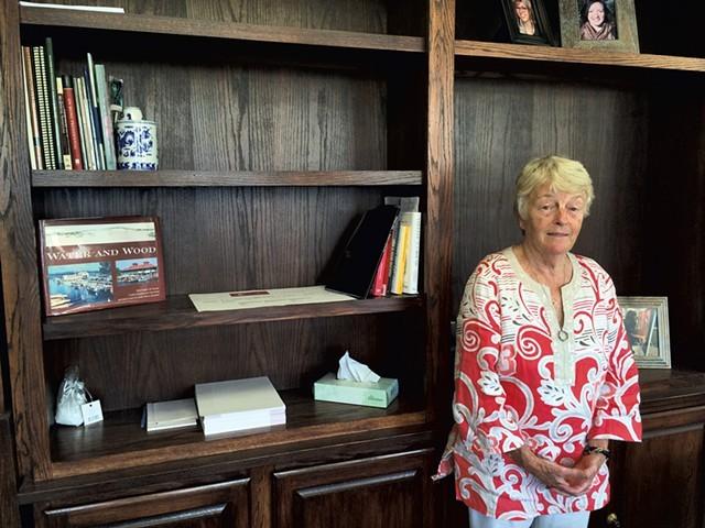 Former Burlington College interim president Carol Moore - FILE: ALICIA FREESE