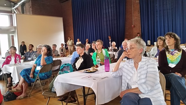 Audience at VHS symposium - KEVIN J. KELLEY