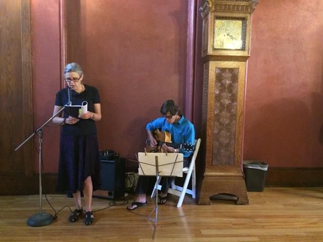 Alexis Lathem reads from Book of the Sixth with Art Herttrua - RACHEL JONES