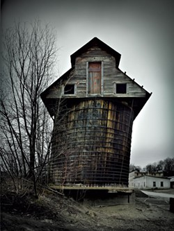 """Coal Silo 1"" - COURTESY OF JIM WESTPHALEN"