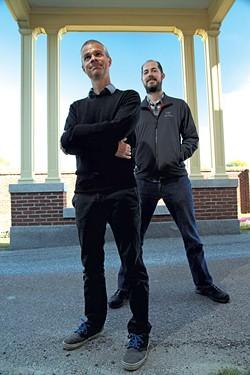 Tyler Doggett, left, and Mark Budolfson - MATTHEW THORSEN