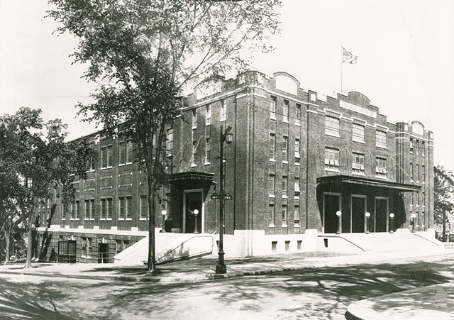 Memorial Auditorium circa 1950 - COURTESY OF LOUIS L. MCALLISTER PHOTOGRAPHS, SPECIAL COLLECTIONS, UNIVERSITY OF VERMONT LIBRARIES