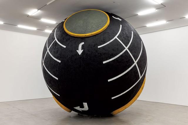 """Lot Ball"" by Lars Fisk - COURTESY OF MARLBOROUGH CHELSEA"