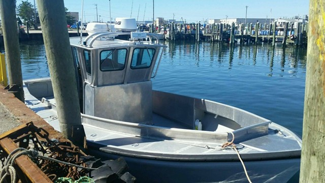 The missing boat - COURTESY: U.S. COAST GUARD