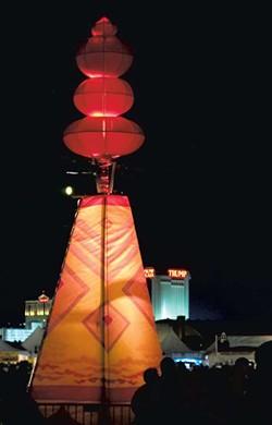 Phish show, Atlantic City, 2012 - COURTESY OF RUSS BENNETT