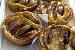 Peach-brown butter tarts - BROOKE WILCOX