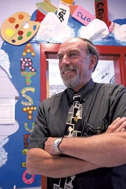 Allen Brook School principal John Terko - MATTHEW THORSEN
