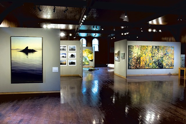 """Of Land & Local: Watershed"" at Shelburne Farms Coach Barn - PHOTOS COURTESY OF BURLINGTON CITY ARTS"