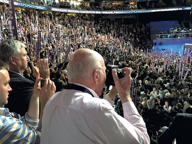 Sen. Patrick Leahy at the 2016 Democratic National Convention - PAUL HEINTZ