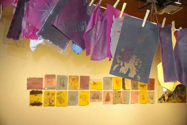Peace Paper Project exhibition - STEVE MEASE