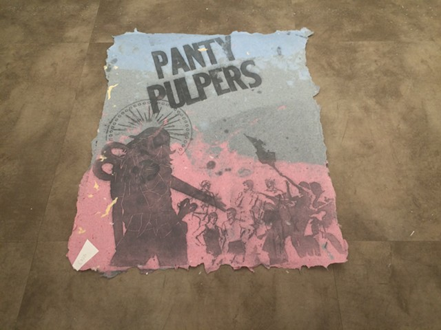 Panty Pulpers poster - RACHEL JONES