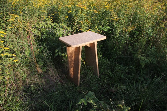 A table made by Ecovative - ECOVATIVE