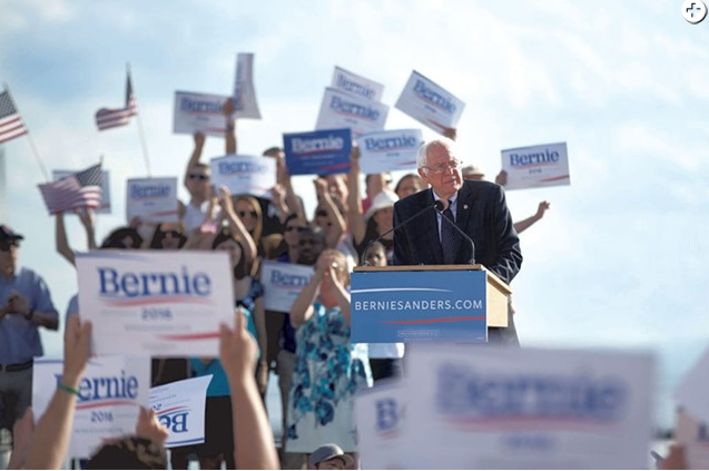 Bernie Sanders - JAMES BUCK/FILE