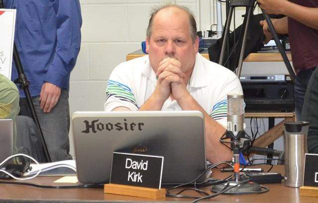 School board member David Kirk - ALICIA FREESE