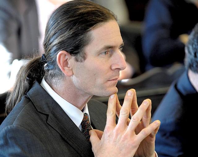 Sen. David Zuckerman - FILE: JEB WALLACE-BRODEUR