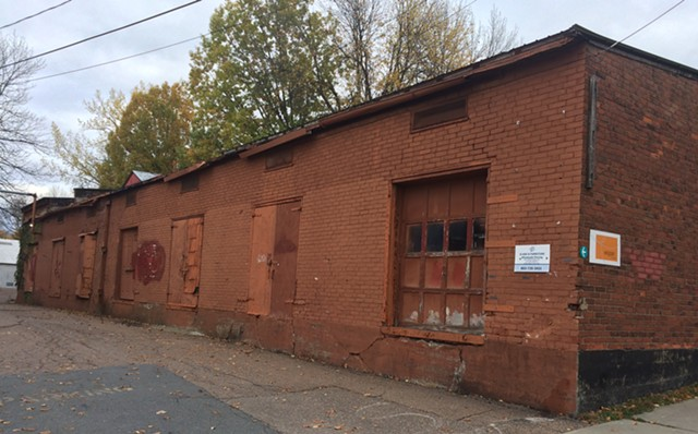 One of the buildings slated for demolition - ALICIA FREESE