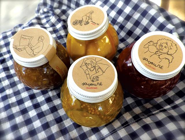 Savouré pickles and preserves - COURTESY OF SAVOURÉ