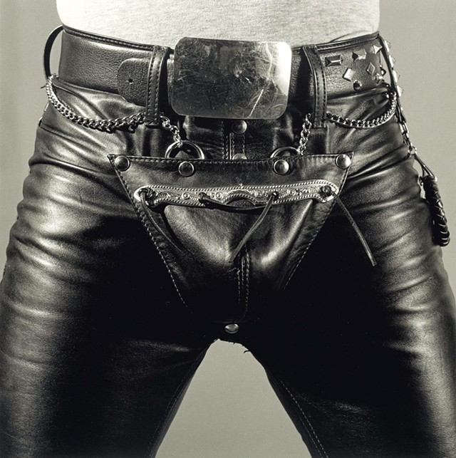 """Leather Crotch,"" 1980 - PHOTOS COURTESY OF MONTRÉAL MUSEUM OF FINE ARTS"