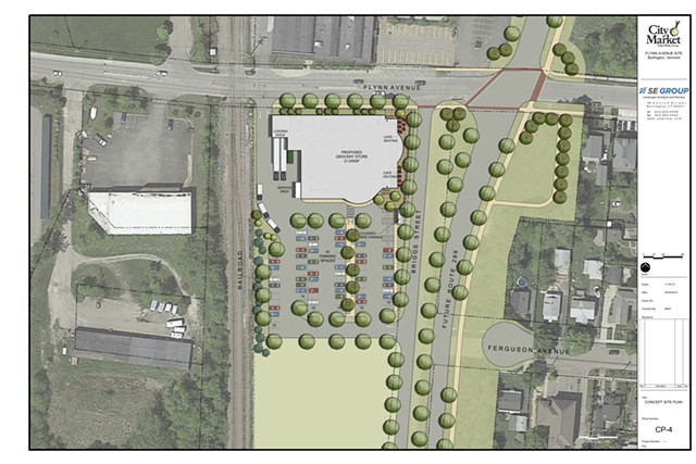Rendering of the City Market's South End project plans - COURTESY: CITY MARKET