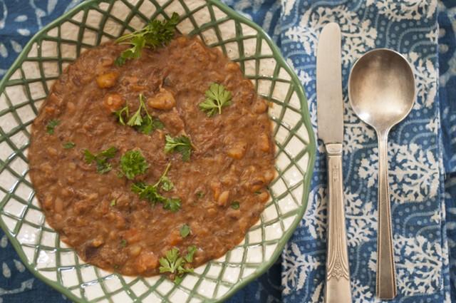 Ham hock-navy bean soup - HANNAH PALMER EGAN
