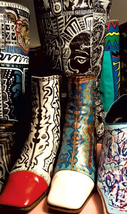 Boots by Rick Skogsberg - COURTESY OF BIGTOWN GALLERY