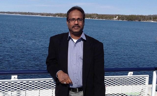 Farhad Khan, president of the Islamic Society of Vermont - COURTESY PHOTO